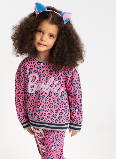 Barbie Sweatshirt Fuşya